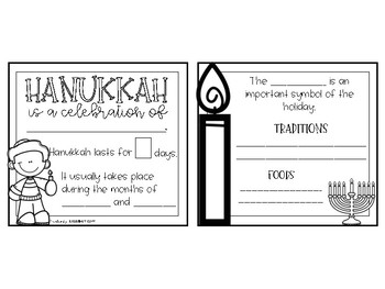 Holidays from Around the World- Paper Bag Book & Comprehension Passages