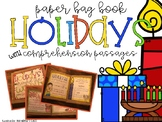 Holidays from Around the World- Paper Bag Book & Comprehen
