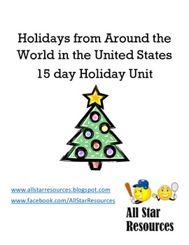 Holidays from Around the World in the United States Unit