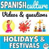 Holidays in Spanish speaking countries video webquest