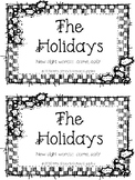 Holidays mini book