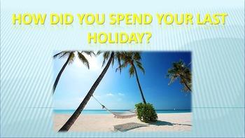 Holidays/Weekends (speaking)