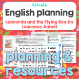 Thematic English planning for Leonardo and the Flying Boy