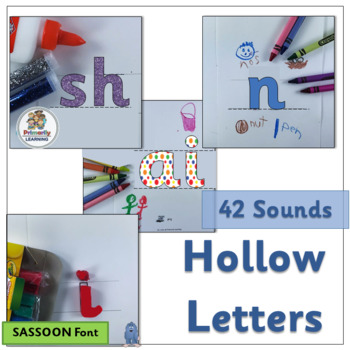Hollow Letters follows same sequence of sounds as Jolly Phonics. (SASSOON)