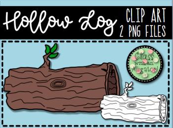 Hollow Log Clip Art