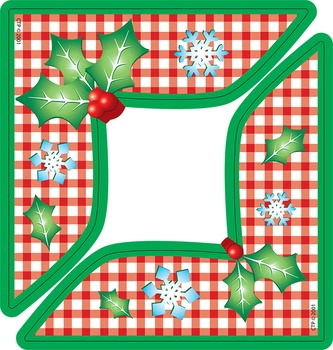 Holly Berries Corners - Project and Artwork Frame Corners
