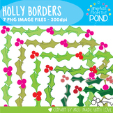 Holly Borders - Graphics Clipart From the Pond