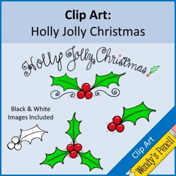 Holly Clip Art