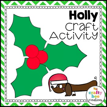 Holly Cut and Paste