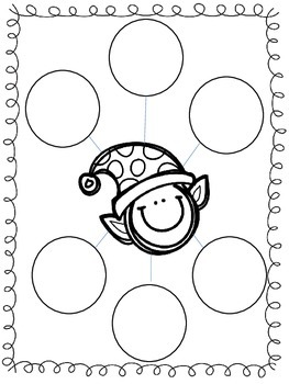 Holly Holidays Literacy and Math Activities