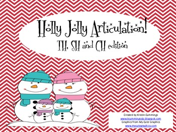 Holly Jolly Articulation! TH, SH, CH edition!