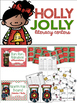 Holly Jolly Bundle: Christmas QR Codes and Literacy Center