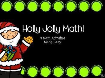 Holly Jolly Math