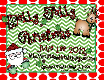 Holly Jolly Christmas-A Common Core Math & Literacy Unit
