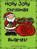 Holly Jolly Christmas Awards for Students!