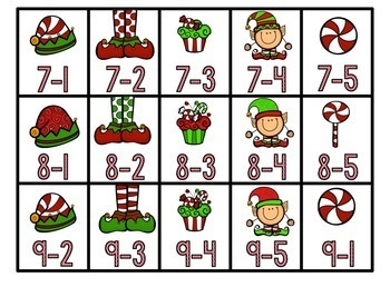 Holly Jolly Christmas: December Math Centers