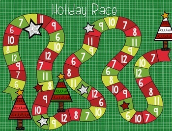 Holly Jolly Christmas: December Math Centers