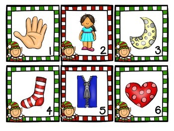 Holly Jolly Christmas Literacy Pack