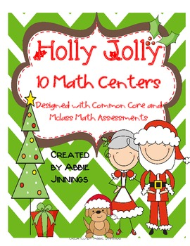 Holly Jolly Christmas Math Centers