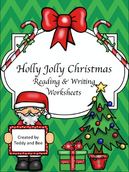 Holly Jolly Christmas.Holly Jolly Christmas Reading And Writing Worksheets