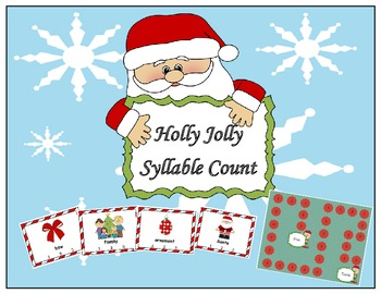 Holly Jolly Christmas Words Syllable Count