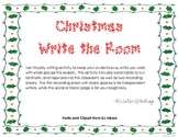 Holly Jolly Christmas Write the Room