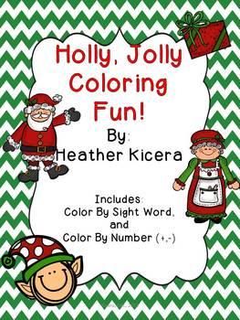 Holly Jolly Coloring Fun