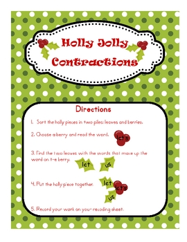 Holly Jolly Contractions