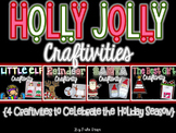 Holly Jolly Holiday {4 Writing Craftivities}