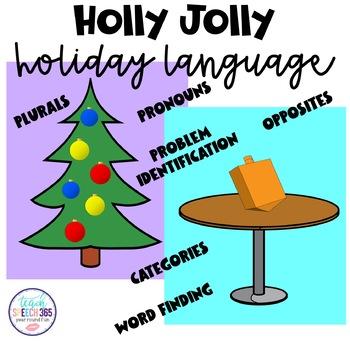 Holly Jolly Holiday Language
