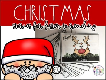 Holly Jolly Listen to Reading Center: 20 QR Code Christmas