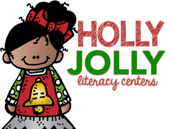 Holly Jolly Literacy Centers: Six Christmas Daily Five Word Work Activities