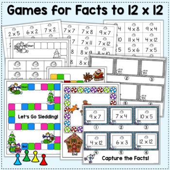 10 Christmas Multiplication Games - Holly Jolly Math!