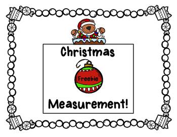 Holly Jolly Measurement- Christmas Measurement Freebie
