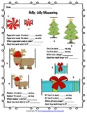 Holly, Jolly Measuring (centimeters)