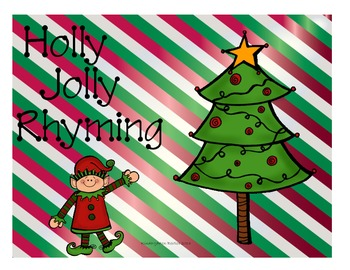 Holly Jolly Rhyming