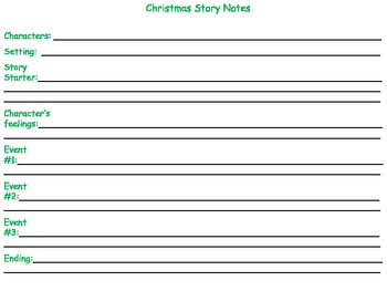 Holly Jolly Story Telling Pack