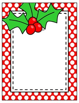 FREE Holly Jolly Templates {A Hughes Design}