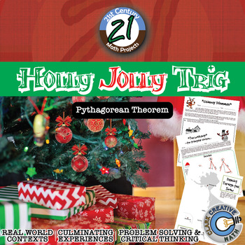 Holly Jolly Trig -- Pythagorean Theorem & Distance Project