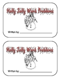 Holly Jolly Word Problems