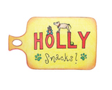 Holly Snacks Label