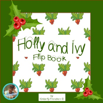 Holly and Ivy Non-Fiction Flip Book for Reading Practice