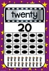 Hollywod Theme  Number Posters - Classroom Decor