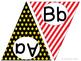 Hollywood ABC Word Wall Pennant Banner