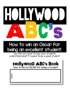 Hollywood ABC's: How to win an OSCAR for being a good student.