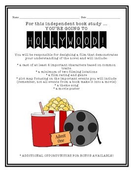 Hollywood! -- Alternative Book Report