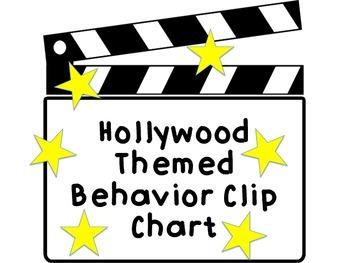 Hollywood Behavior Chart
