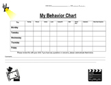 Hollywood Behavior Chart