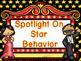 Hollywood Behavior Clip Chart