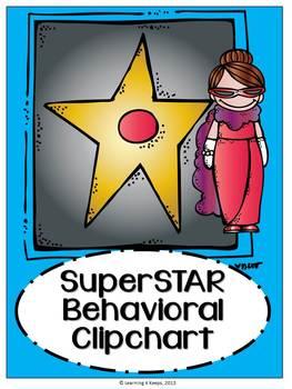 Hollywood Behavior Clipchart